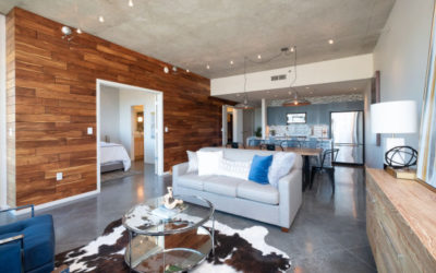 Gorgeous Upscale Luxury Condo on the 7th Floor with Epic Views of Downtown Little Rock