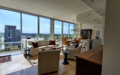 Oversized River Market Tower Condo on 11th Floor